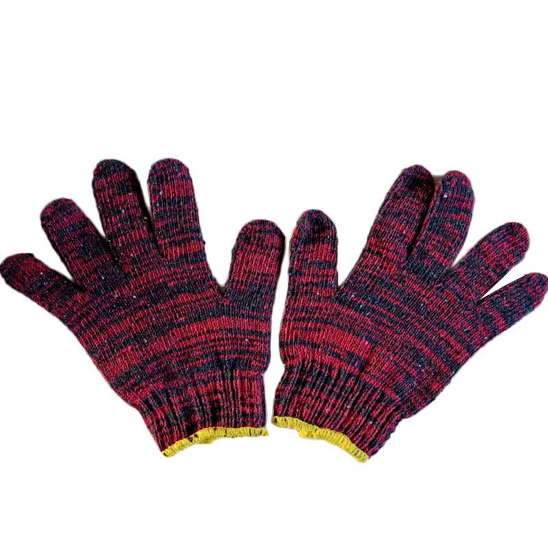 12 Pairs Breathable Cotton Garden Wear-Resistant Strengthen Thicker Work Gloves High Temperature Labor Protection Safety Wear high quality hand tool gloves 12 pairs 700g cotton gloves wear resistant work thick gloves against high low temperature gloves