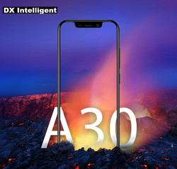 Blackview A30 5.5 Inch 19:9 Full Display 3G Mobile Phone MTK6580A Quad-Core 8MP Dual Camera 2GB RAM 16GB Android 8.1 Face ID GPS