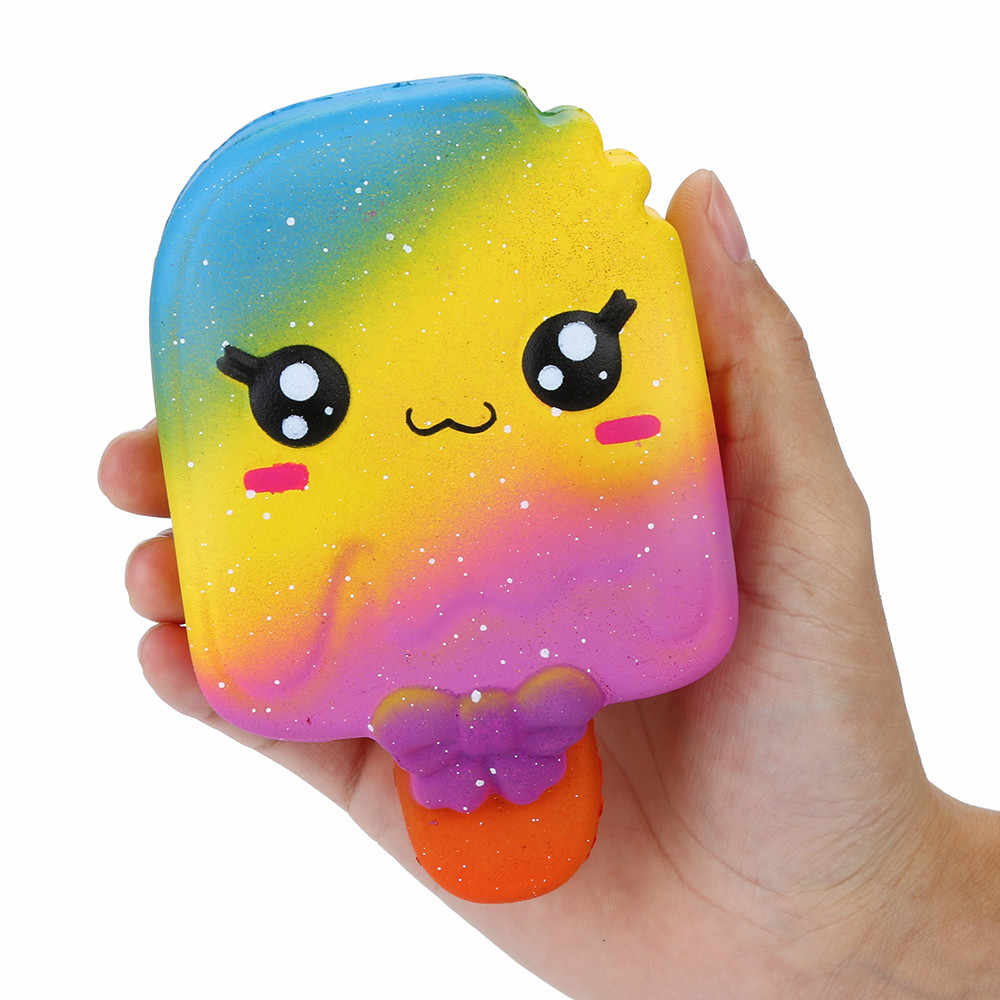 Decompression Ice Cream Scented Squishies Slow Rising Kids Toy Stress Relief Toy squishy caoutchouc relief toy Feb25