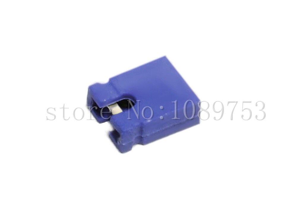 1000 Pcs Blue Mini Micro Jumper 2.54mm Standard Circuit