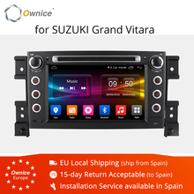 Ownice C500 Android 6,0 Octa 8 ядра dvd-плеер автомобиля для Suzuki Grand Vitara Android 6,0 Wifi 4G gps BT Радио 2 GB Оперативная память 32 ГБ Встроенная память