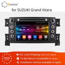 Ownice C500 Android 6.0 Octa 8 Core lettore DVD Dell'automobile per Suzuki Grand Vitara Android 6.0 Wifi 4G GPS BT Radio 2 GB di RAM 32 GB di ROM