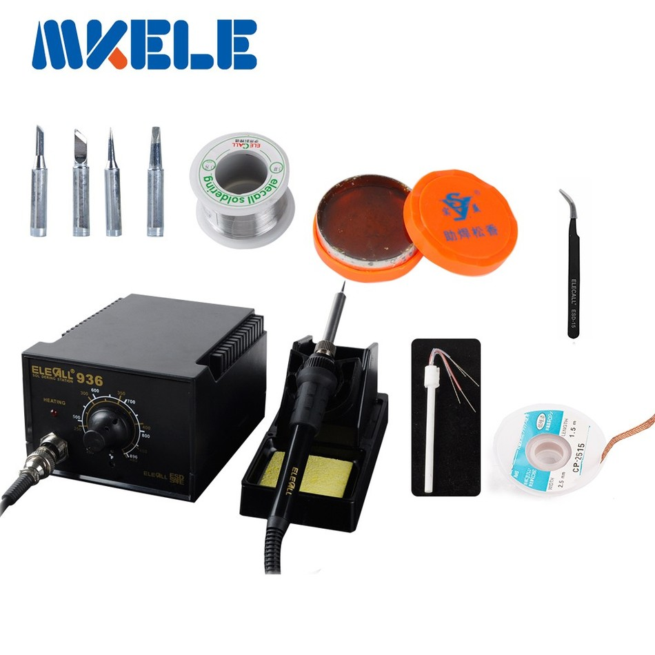 936 Soldering Station set +lots gift as picture Anti static Electric Iron Welding Soldering 220V 110V for choose комплект стеклоочистителей swf visioflex oe 600 400 мм 119291