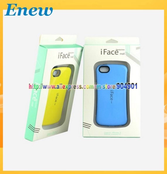 Free shipping iFace First Class Case for iphone5 with retail package, Sports Car Case for iPhone 5