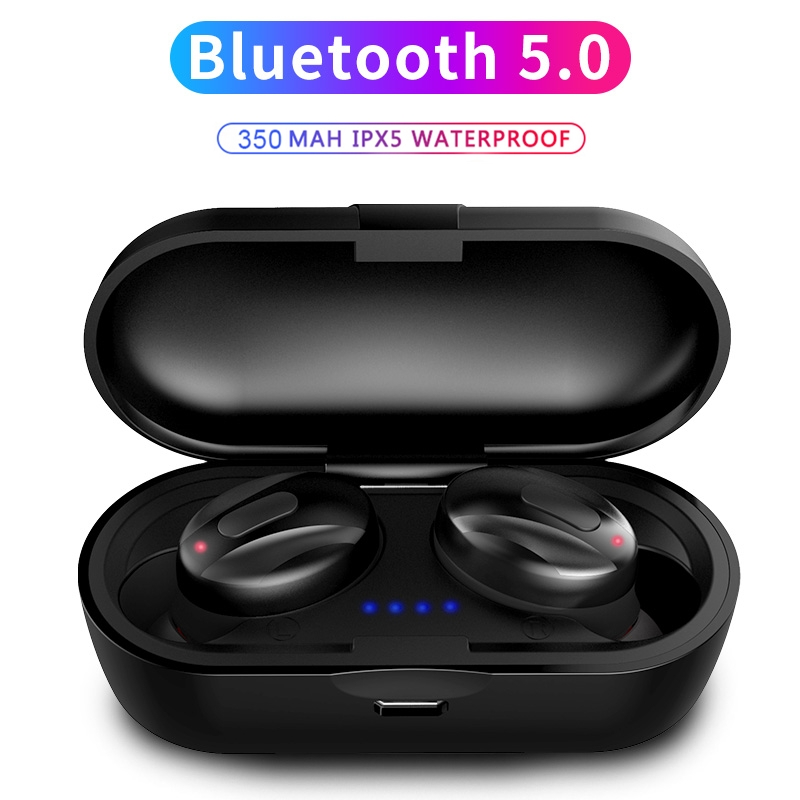 FDGAO <font><b>TWS</b></font> 5.0 Bluetooth Earphone Mini Wireless Earbuds Sport Waterproof Handsfree Stereo Headphone Headset With Mic Charging Box image