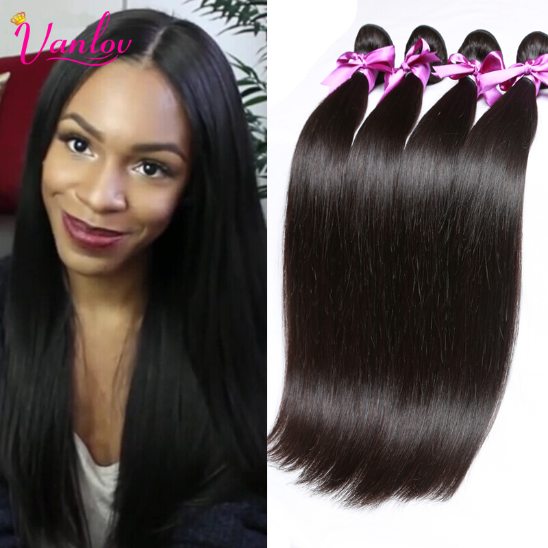 Malaysian Virgin Hair Straight Malaysian Straight Hair 4 Bundle Deals Human Hair Straight Virgin Hair Crochet Braids in Bundles