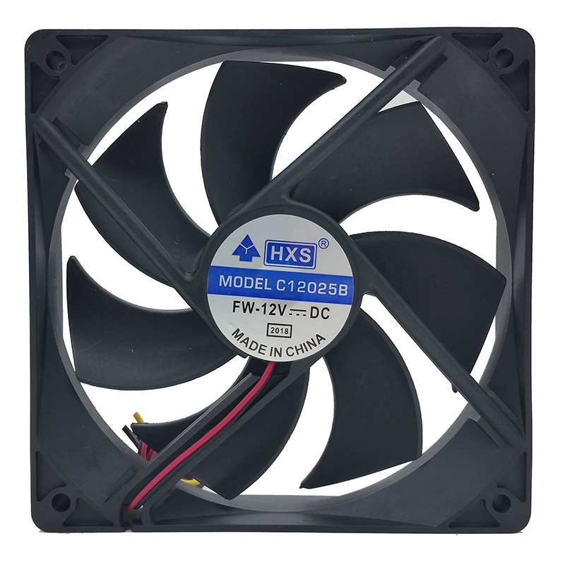PC Computer Case 12025s 12cm 120mm 120x25mm DC 12V black 4Pin male/female Cooling Fan gdstime 10 pcs dc 12v 14025 pc case cooling fan 140mm x 25mm 14cm 2 wire 2pin connector computer 140x140x25mm