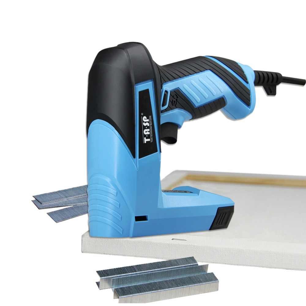 220V 45W Electric Staple Gun Stapler Nail Gun Tacker Staples ```