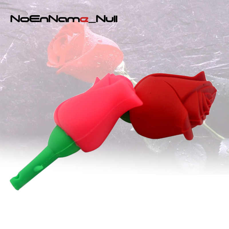Noenname red pink Rose model USB Flash Drive delicacy pen drive pendrive 4GB/8GB/16GB/32GB memory stick 64GB 128GB U disk