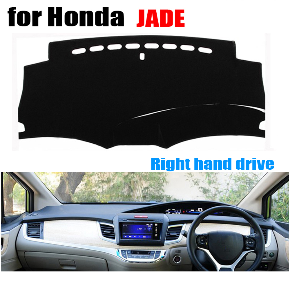 RKAC Car dashboard covers For Honda Jade all the year Right hand drives dashboard mat pad dashmat car stikcers accessories