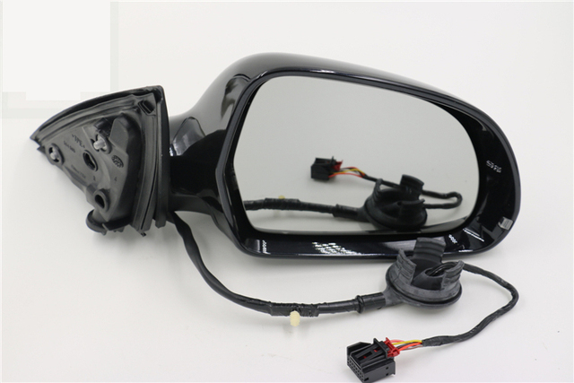 US $73 14 |Original Exterior Outside Mirror Door Side Mirror Assembly for  Audi A6 C6 04 11 (6/7/8/9/17 Wires)-in Mirror & Covers from Automobiles &
