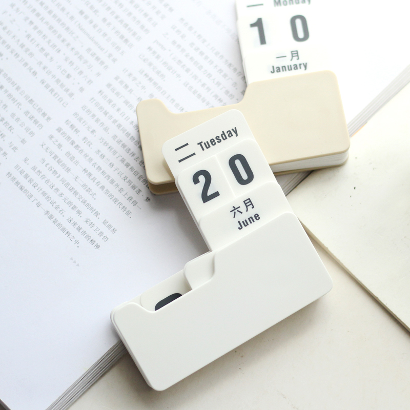 New Vintage Style Pp Perpetual Calendar Diy Calendar Art Crafts Home Office School Desk Decoration Gifts Sale Price Calendar Office & School Supplies