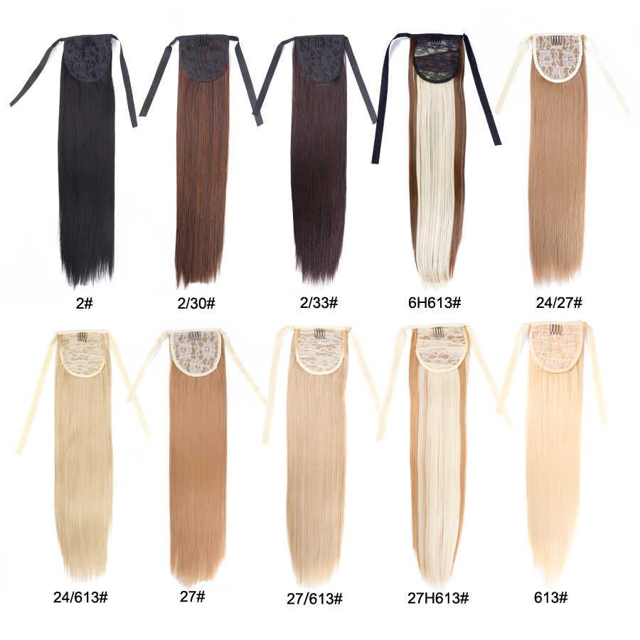 Alieader macio rabo de cavalo extensão do cabelo para as mulheres colorido sintético encaracolado rabo pônei grampo de cabelo cordão extensão do cabelo 20 polegadas