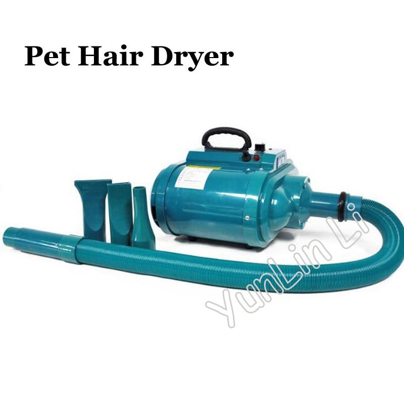 Pet Hair Dryer 4 Gear Speed Dual motor Professional Pet Hair Dryer 3600W 220V Blower for Pets LT1090C H