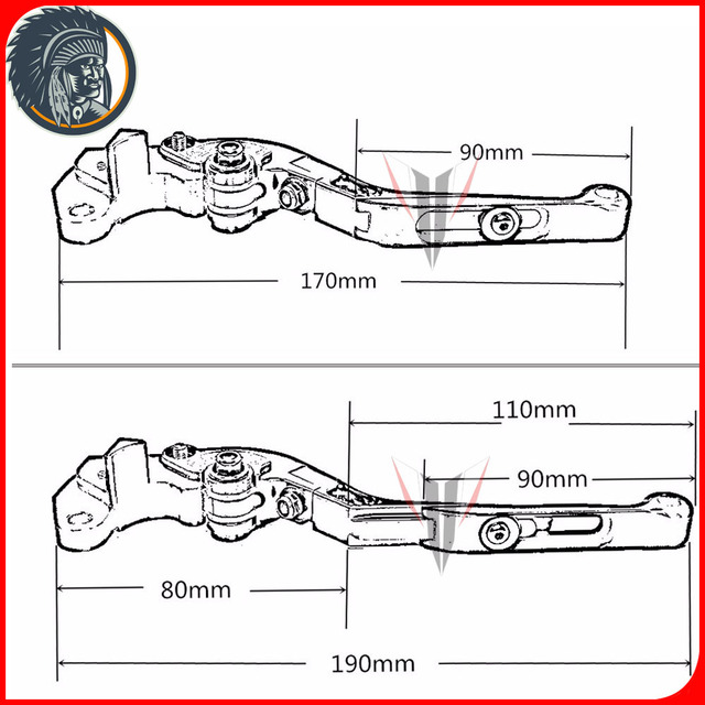 Laser Logo: (Z900) For Kawasaki Z900 Z 900 2017 Red&Titanium CNC Motorcycle Brake Clutch Levers and Handlebar Hand Grips