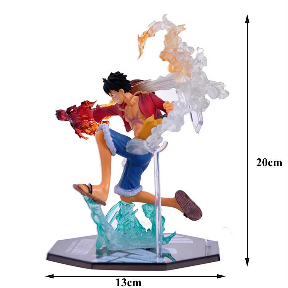 Аниме one piece King Doll модель обезьяна D. Luffy бой резиновые фрукты соломенная шляпа пиратские принадлежности сильнейший человек в мире