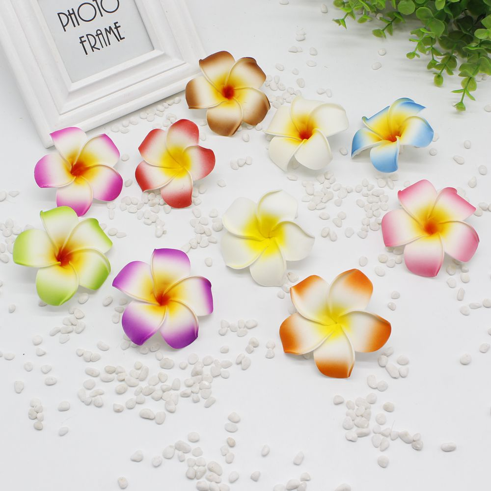 20 pieces / lot new 8cm size bubble mini fake egg hairpin / children hairpin Hawaii beach hair ornaments