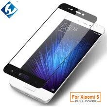 For XiaoMi 5 Premium Full Cover Tempered Glass Film Phone Accessory 0.26mm 9H Full Protector For Xiaomi Mi5 Mi 5 M5 5.15″ Film