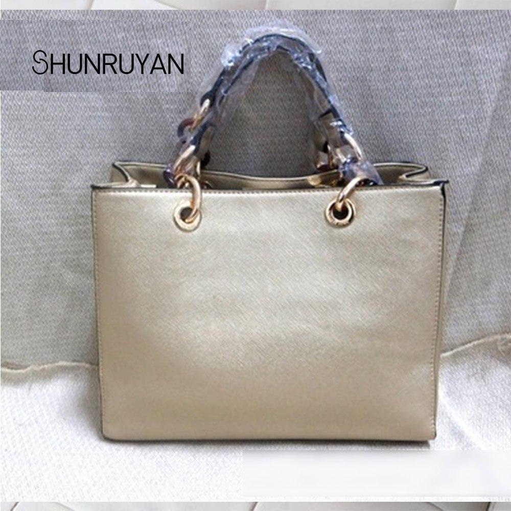SHUNRUYAN 2019 Women Bag New Brand Desidn Elegant Casual Tote Handbag Shoulder