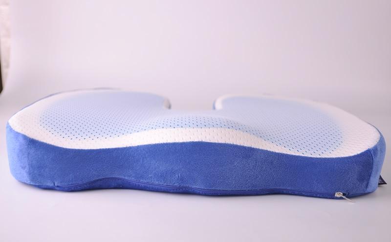 HTB1a2lbsYuWBuNjSszgq6z8jVXa2 PurenLatex 46*36 U Shape Silicone Gel Cushion Memory Foam Pillow Coccyx Protect Slow Rebound Summer Cool Chair Cushion Seat Mat