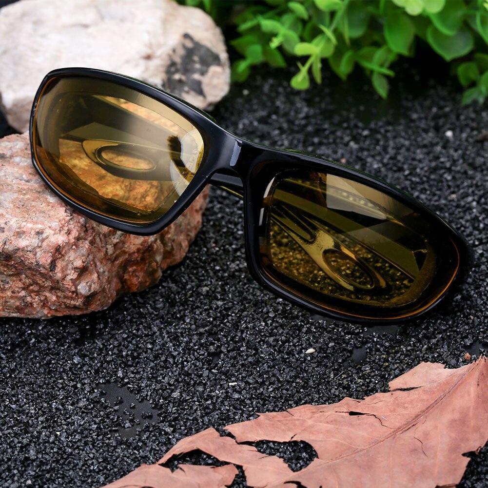 Ветрозащитные солнцезащитные очки Экстремальные виды спорта мотоциклетные защитные очки для верховой езды - Цвет: black frame and yell