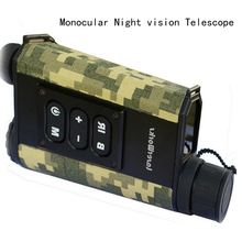 500 m DIY hunting military night vision laser ranging multifunction infrared tester night vision monocular Handheld rangefinder