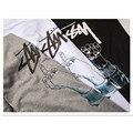 Homens T-shirt da marca Tide Palácio de verão de Algodão Ocasional Tee Hop skate homens e mulheres Engraçado Dedo Médio Camisola