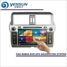 YESSUN For Toyota Prado 150 / GX 460 2014 2015 2016 Car Radio CD DVD Player Amplifier HD TV Screen GPS Navigation Audio Video