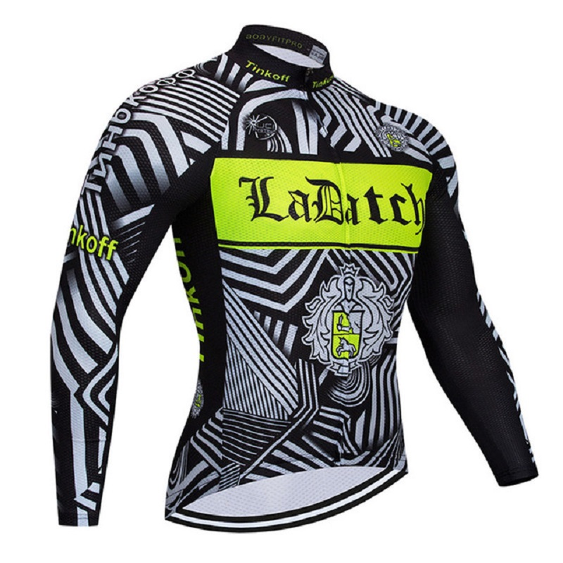 Cycling Clothing 2018 Pro Team Tinkoff Winter Thermal Fleece Cycling Jersey Ropa Ciclismo Invierno MTB Bike Jersey Top Wear 2018 maillot ropa ciclismo invierno tinkoff winter cycling jersey thermal fleece long sleeve cycling clothing set mtb bike wear