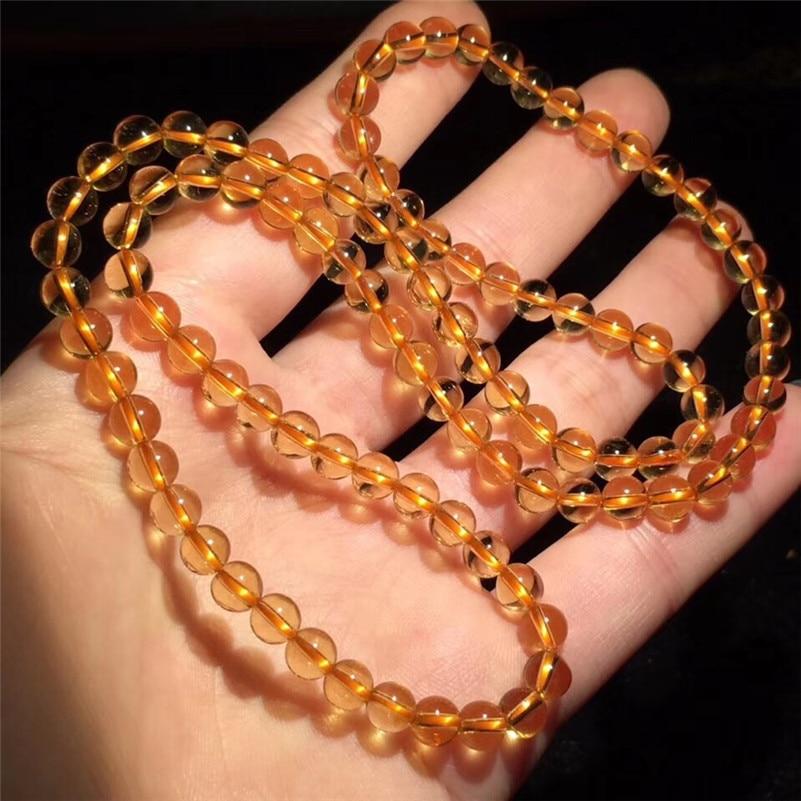Natural Citrine Quartz Bracelet (5)