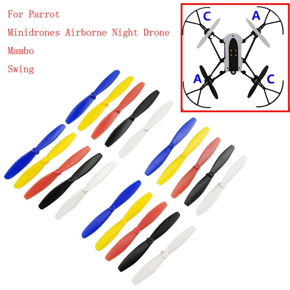 One Set RC Propeller Blade Mini Drones For Parrot Mambo UAV Parts RC Propellers For Mini Drones For Parrot Mambo UAV Parts