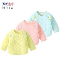 HHTU Newborn Baby Quilted Cotton Kid Coat Children Boy Girl Spring Autumn Keep Warm Long Sleeve