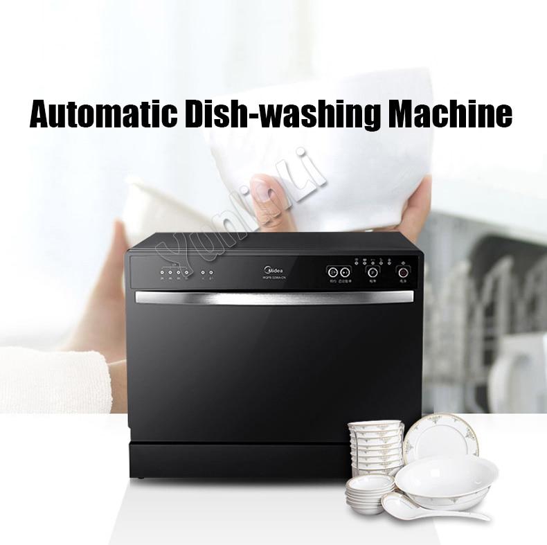 Automatic Dishwasher Household Dish-washing Machine Intelligent Embedded Dish Cleaner Commercial Dish Cleaning Machine WQP6-3206 palmolive ultra antibacterial orange dish washing liquid 10oz