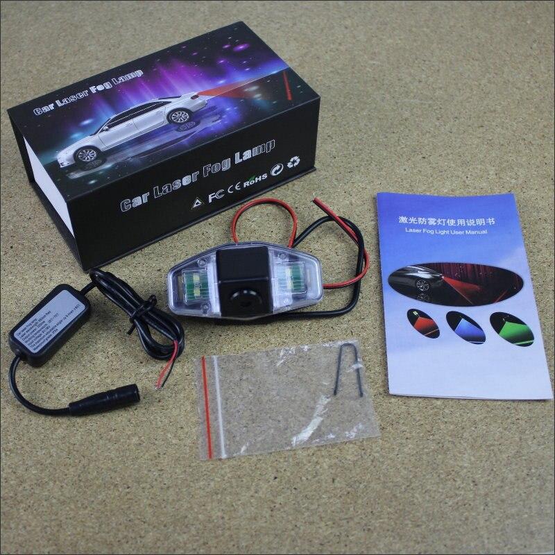 Anti Collision Laser Lights For Acura MDX / TSX RL TL Car Prevent Mist Fog Lamps Haze Warning Rear Light