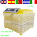 Full automatic holding 96 chicken eggs incubator for sale HT-96 220V