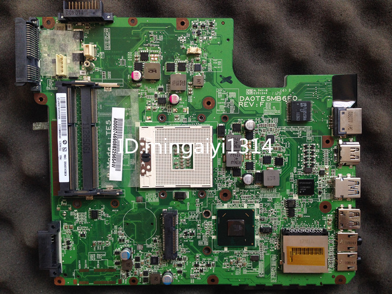 For Toshiba satellite L745 HM65 integrated laptop motherboard,A000074690100%Tested DA0TE5MB6F0  stock No.999