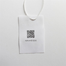 Factory Price Custom High - Grade Cotton Tape Tag for Womens Clothing