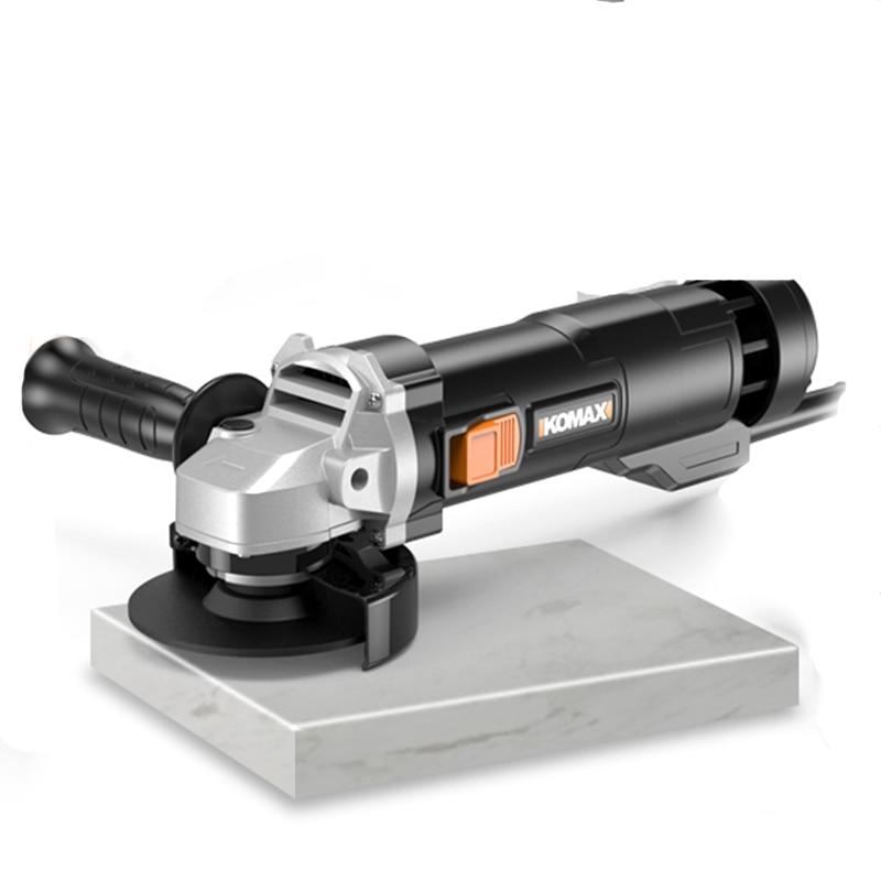 220V 800W Handheld Electric Angle Grinder Speed Regulating Grinding Machine for Metal Wood Polishing Cutting Tool цена