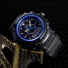 e48099b2417 2018 top venda ohsen relógio de quartzo digital homens relógios de pulso  militar levou esporte relógio masculino pulseira de bor.