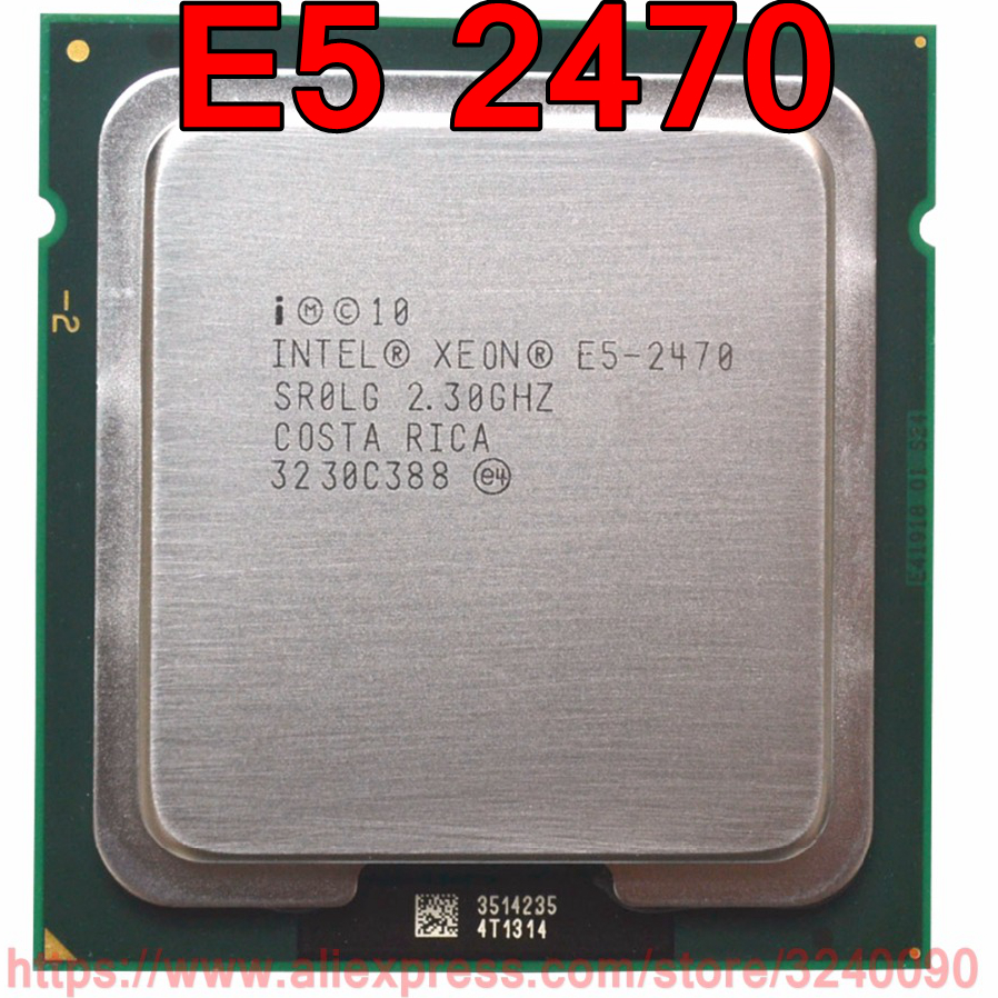 Intel Xeon CPU E5 2470 SR0LG 2 30GHz 8 Core 20M LGA1356 E5 2470 processor free