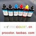 6 цвет PGI525 525 пигментные чернила 526 CLI-526 GY чернила для заправки комплект для Canon PIXMA MG6150 MG6250 MG 6150 6250 струйный принтер с СНПЧ