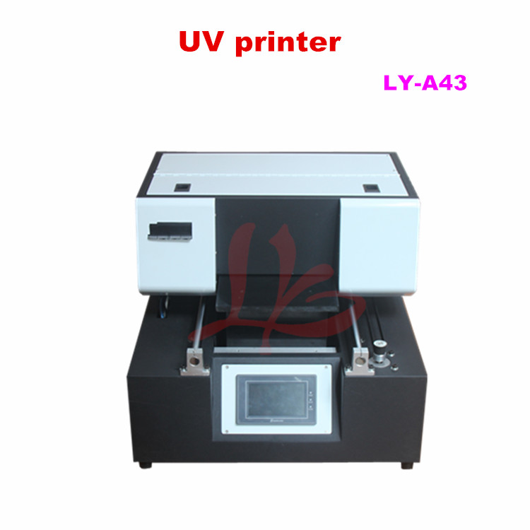 LY A43 touch screen UV flatbed Printer max print size 210x400mm for  ceramic tile,glass,metal