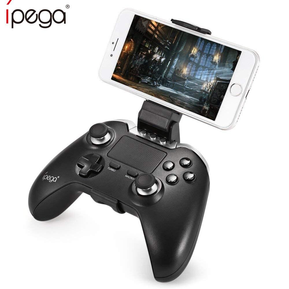 IPega PG-9069 sans fil Bluetooth Gamepad double Vibration choc contrôleur de jeu avec tablette tactile télécommande Joystick pour PC