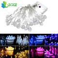 30 LED Battery Powered Raindrop Fairy String Light Outdoor Xmas Wedding Garden Party Decor