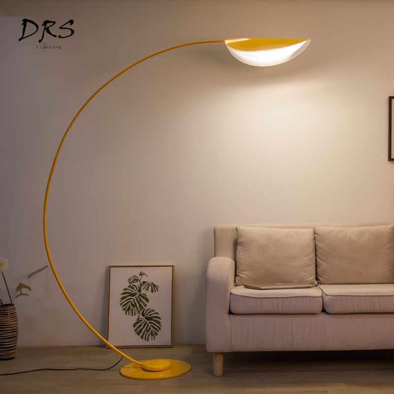 Американский стиль простые напольные светильники скандинавский пост-современный глаз светодиодный стоящий светильник RC гостиная интерьерная Напольная Лампа Lamparas De Piso
