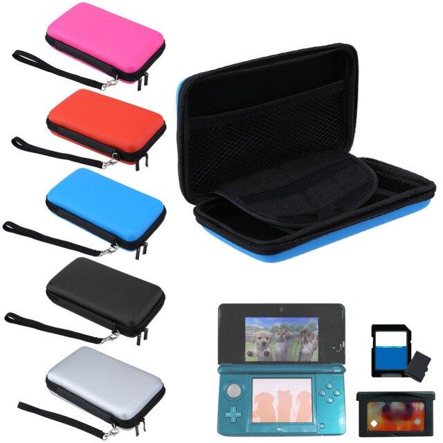 נייד קשה לשאת אחסון מקרה עבור 3DS תיק מגן תיק נסיעות עבור 3 DS משחקי קונסולת כרטיס אביזרי עבור Nintendo 3DS