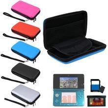 กระเป๋าใส่กระเป๋าถือแบบพกพาสำหรับ 3DS กระเป๋ากระเป๋าเดินทางสำหรับ 3 DS เกมคอนโซลการ์ดอุปกรณ์เสริมสำหรับ Nintendo 3DS