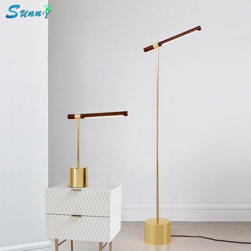 Nordique moderne Simple fer lampadaires pour salon apprentissage LED de lecture lampe de bureau créatif lampadaire décor à la maison Stand lumière