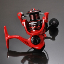 Lizard Spinning Fishing Reel13+1BB Excessive Pace AST500-6000 Spinning Carp Fishing Coil Wheel Line Free transport