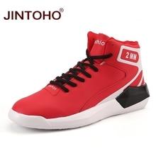 Бренд JINTOHO, Мужская Баскетбольная обувь, дешевые уличные баскетбольные кроссовки, спортивные кроссовки для мужчин, уличные прогулочные баскетбольные ботинки